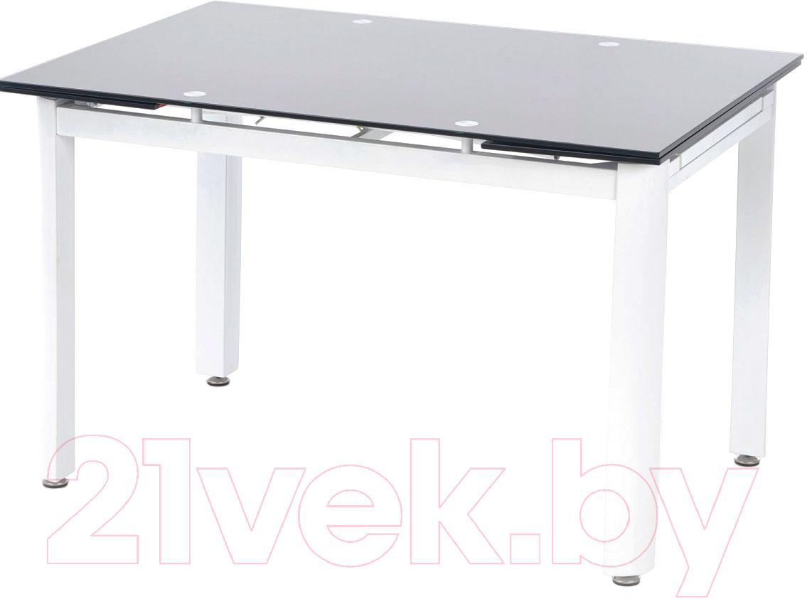 Купить Обеденный стол Halmar, Alston (черный/белый), Китай