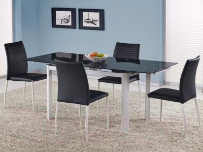 Обеденный стол Halmar Alston (черный/белый)