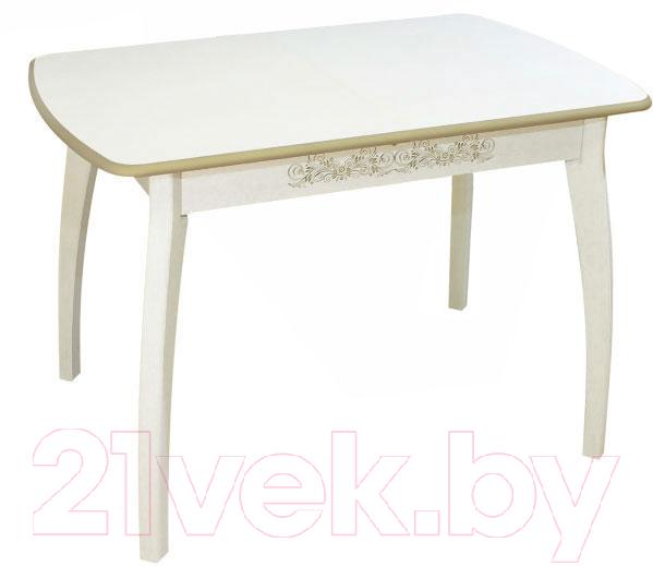 Купить Обеденный стол Древпром, Верона М45 113x71 (патина 29), Россия