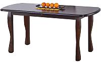 Обеденный стол Halmar Henryk (темный орех) -