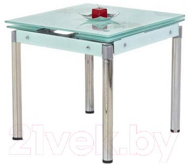 Обеденный стол Halmar Kent (молочный/хром)