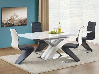 Обеденный стол Halmar Sandor 160-220x90 (белый)