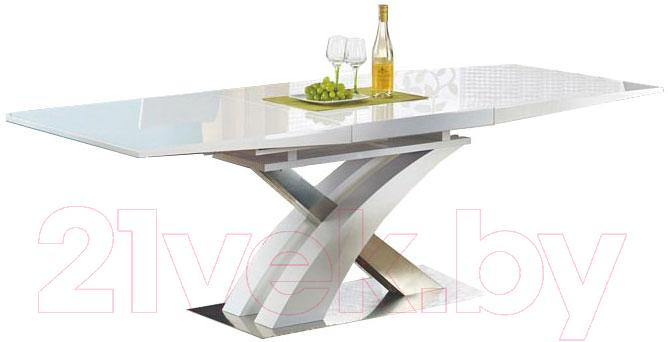Купить Обеденный стол Halmar, Sandor 160-220x90 (белый), Китай