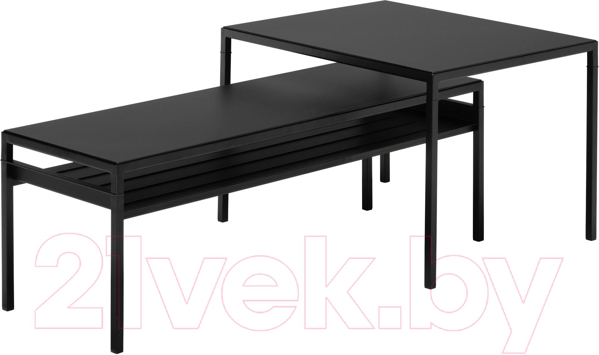Купить Комплект журнальных столиков Ikea, Нибода 192.083.21, Швеция