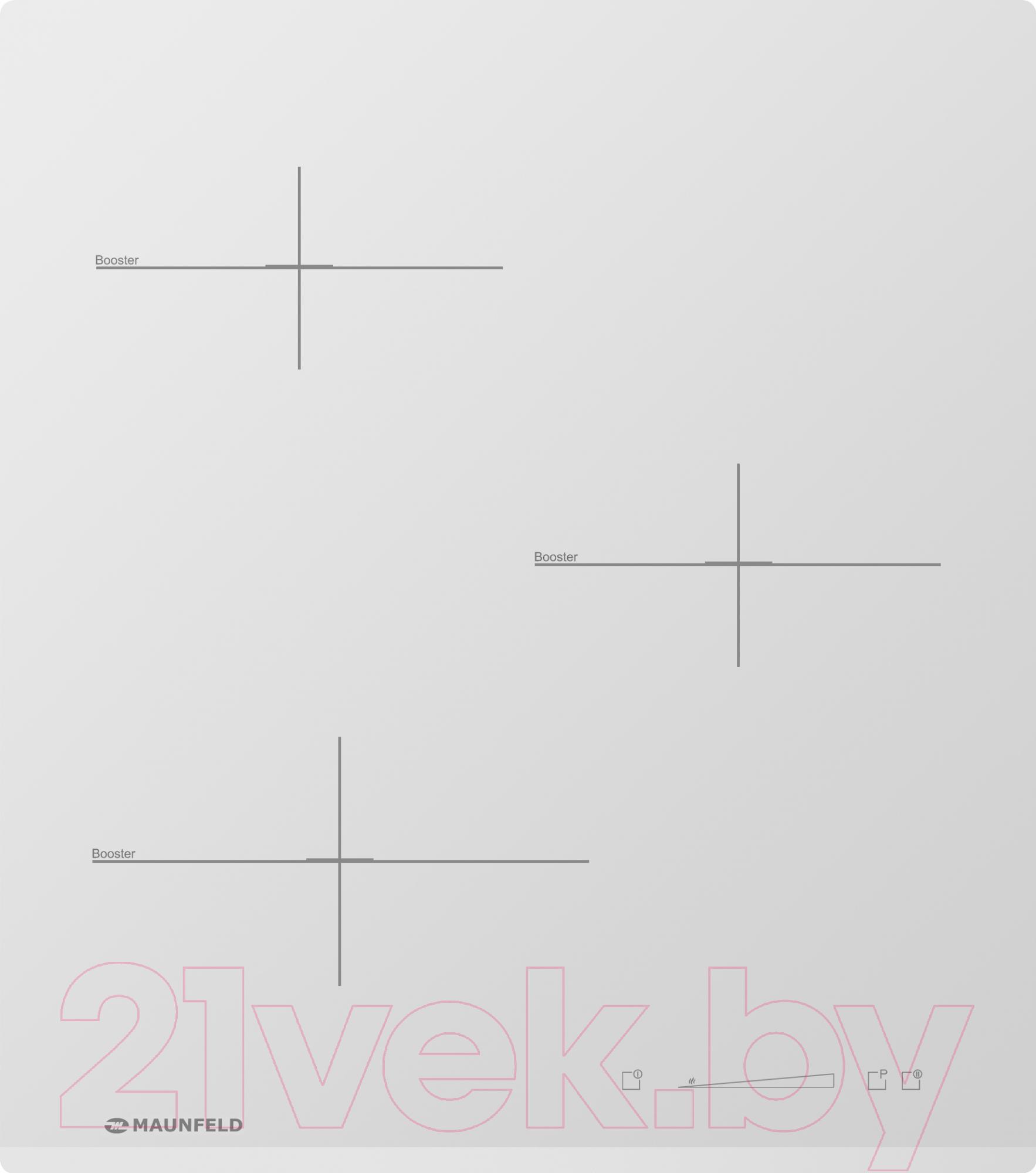 Купить Индукционная варочная панель Maunfeld, MVI45.3HZ.3BT-WH, Франция