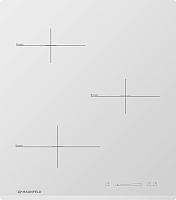 Индукционная варочная панель Maunfeld MVI45.3HZ.3BT-WH -