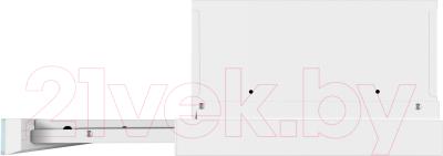 Вытяжка телескопическая Maunfeld VS Light Glass (C) Ln 50 (белый/белое стекло)