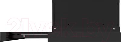 Вытяжка телескопическая Maunfeld VS Light Glass (C) Ln 50 (черный/черное стекло)