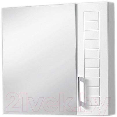Купить Шкаф с зеркалом для ванной Акваль, Анна 71 / АННА.04.71.00.N, Беларусь