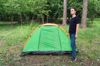 Палатка Sundays GC-TT002 (зеленый/желтый)