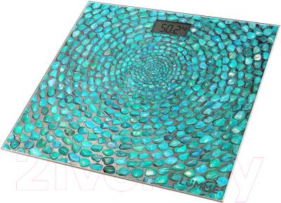 Напольные весы электронные Lumme LU-1329 (голубая бирюза)
