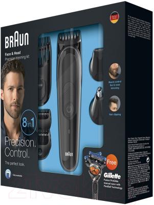 Машинка для стрижки волос Braun MGK3060 (+ бритва Fusion ProGlide)