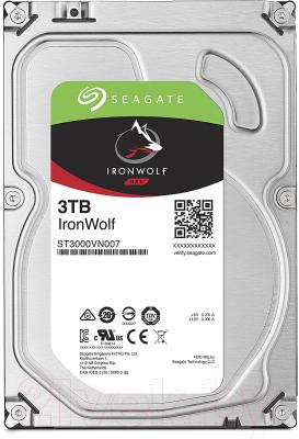 Жесткий диск Seagate IronWolf Pro 3TB (ST3000VN007)