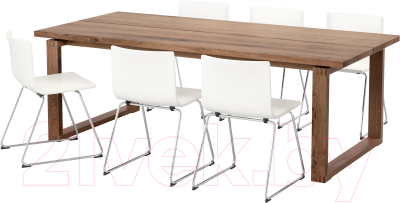 Обеденная группа Ikea Морбилонга/Бернгард 792.296.79