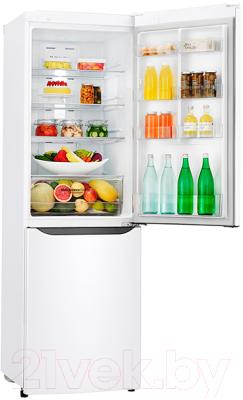 Холодильник с морозильником LG GA-B429SQQZ