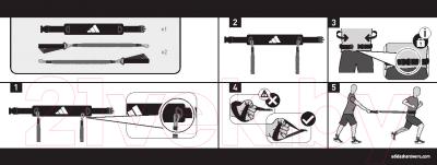 Минитренажер Adidas ADSP-11511