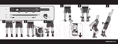 Минитренажер Adidas Вертикальный прыжок ADSP-11512