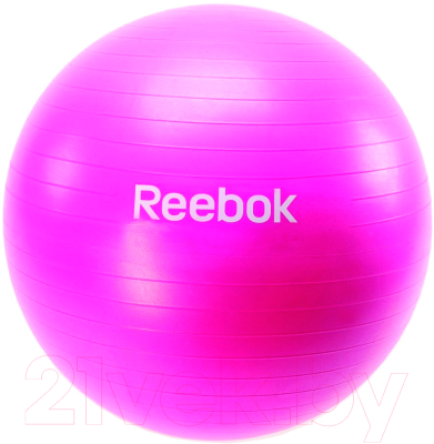 Фитбол гладкий Reebok RAB-11015MG (лиловый)