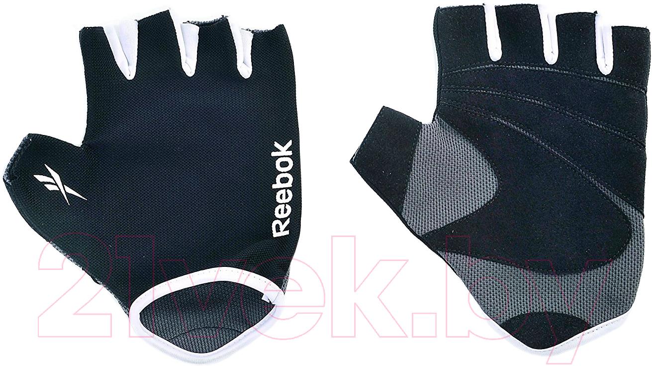 Купить Перчатки для пауэрлифтинга Reebok, RAEL-11133GR (S/M, серый), Китай