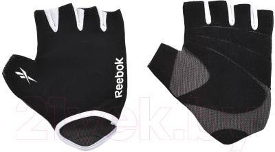 Перчатки для пауэрлифтинга Reebok RAEL-11134BK (L/XL, черный)