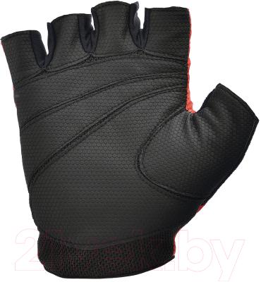 Перчатки для пауэрлифтинга Reebok RAGB-11236RD (L, красный)