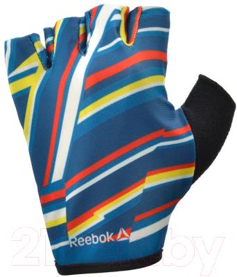 Перчатки для пауэрлифтинга Reebok RAGB-12331ST (XS, моноколор)