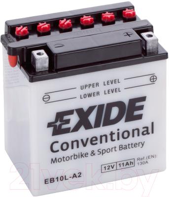 Мотоаккумулятор Exide Conventional EB10L-A2 (12 А/ч)