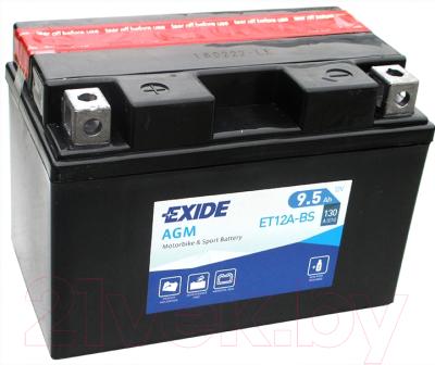 Мотоаккумулятор Exide AGM ET12A-BS (9.5 А/ч)