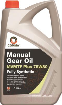 Трансмиссионное масло Comma MVMTF Plus 75W80 / MVP75805L (5л)
