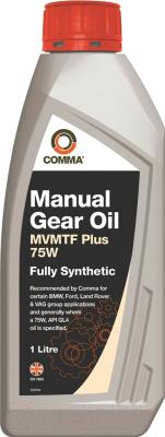 Трансмиссионное масло Comma MVMTF Plus 75W80 / FE75W1L (1л)