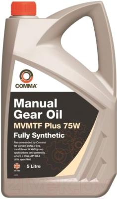 Трансмиссионное масло Comma MVMTF Plus 75W / FE75W5L (5л)