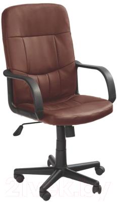 Кресло офисное Halmar Denzel (темно-коричневый)