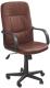 Кресло офисное Halmar Denzel (темно-коричневый) -