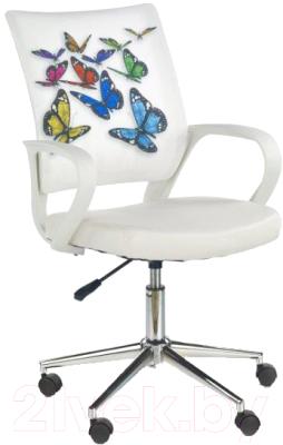 Кресло офисное Halmar Ibis Butterfly