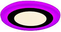 Точечный светильник Truenergy 12+4W 10215 (розовый) -