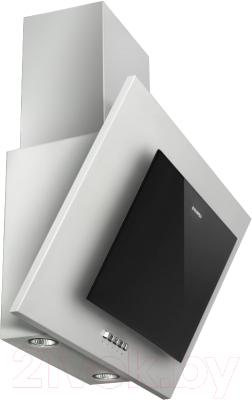 Вытяжка декоративная Maunfeld Tower CS 50 (нержавеющая сталь/черный)