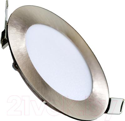 Точечный светильник Truenergy 9W 4000K 10904 (никель)