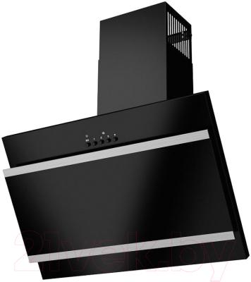 Вытяжка декоративная Maunfeld Tower G Satin 60 (stripes) (черный)