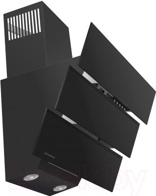 Вытяжка декоративная Maunfeld Cascada Trio 60 (черный)