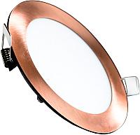 Точечный светильник Truenergy 9W 4000K 10912 (медь) -