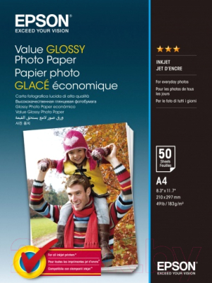 Фотобумага Epson C13S400036