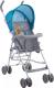 Детская прогулочная коляска Lorelli Light 2017 Blue&Grey Hello Bear (10020471718) -