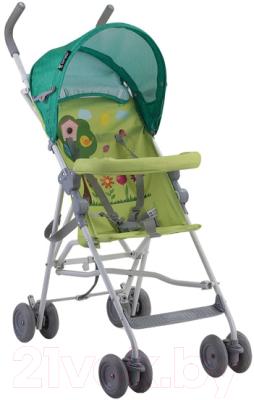 Детская прогулочная коляска Lorelli Light 2017 Green Garden (10020471708)