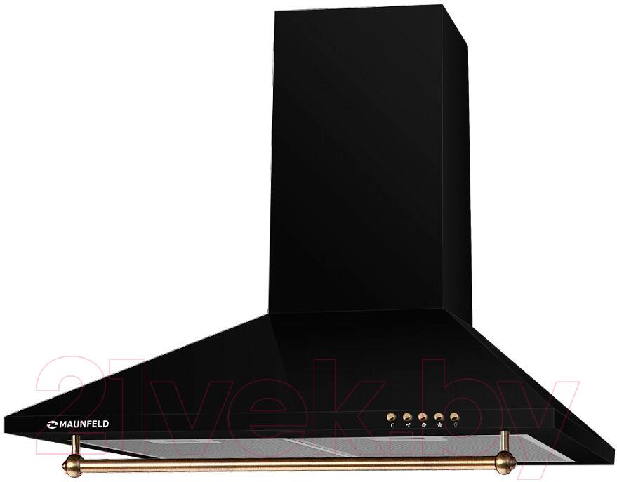 Купить Вытяжка купольная Maunfeld, Retro Light 60 (черный), Польша