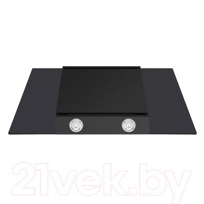 Вытяжка декоративная Maunfeld Gloria 90 (черный/черное стекло)