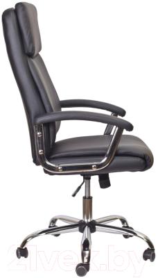 Кресло офисное Седия Levada Chrome Eco (черный)