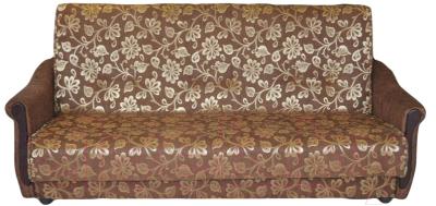 Диван Промтрейдинг Уют 140 с пружинным блоком (гобелен коричневый)