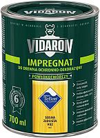 Защитно-декоративный состав Vidaron Impregnant V02 Золотистая сосна (700мл) -