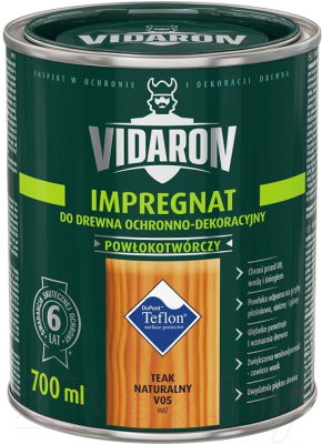Защитно-декоративный состав Vidaron Impregnant V05 Натуральный тик (700мл)