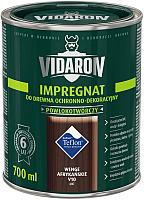 Защитно-декоративный состав Vidaron Impregnant V10 Африканское венге (700мл) -